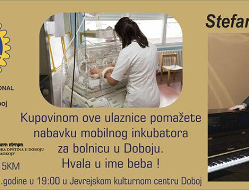 RC Doboj i Jevrejski kulturni centar u Doboju organizuju humanitarne koncerte