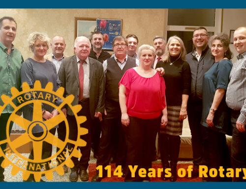 114 godina Rotary kluba – 23.2.2019.